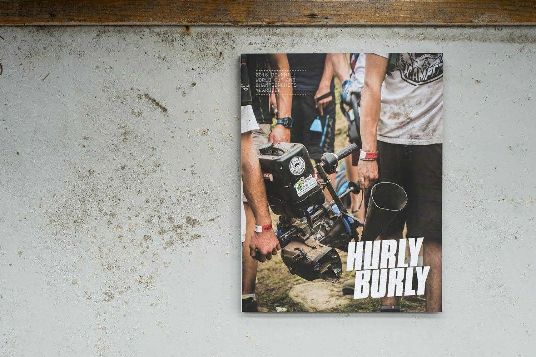 Hurly Burly downhill mountain bike book