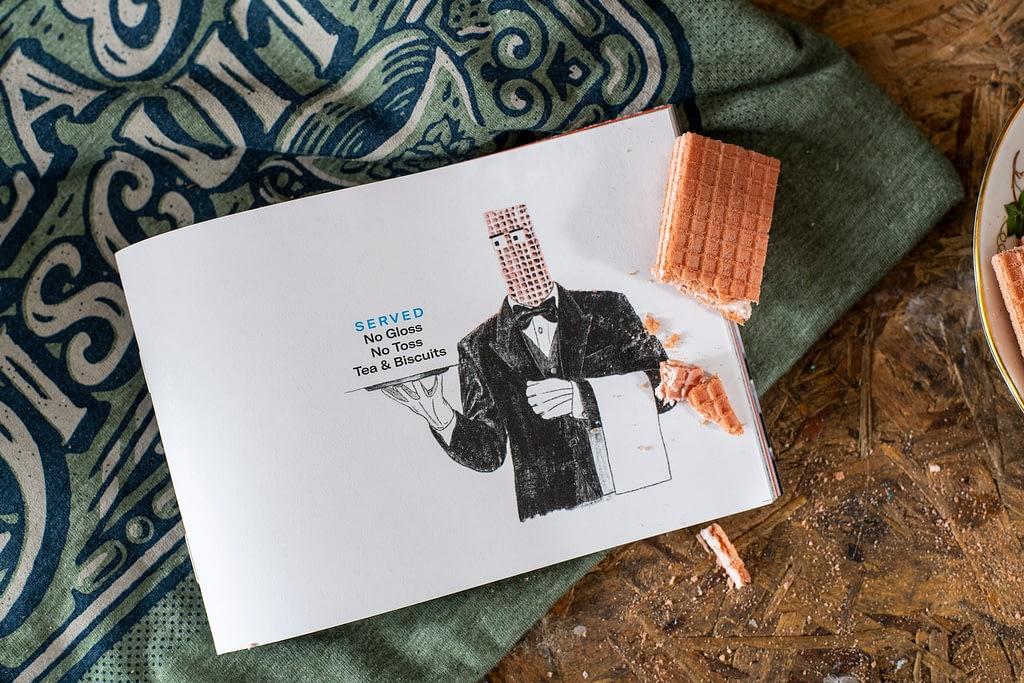 Tea and Biscuits film zine book